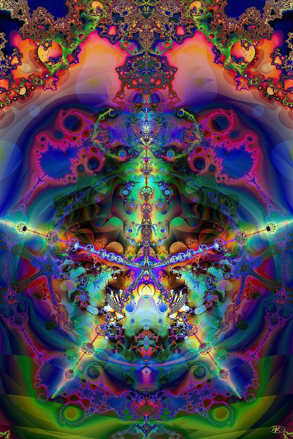 Posters Digital Art - Dream Star by Kiki Art