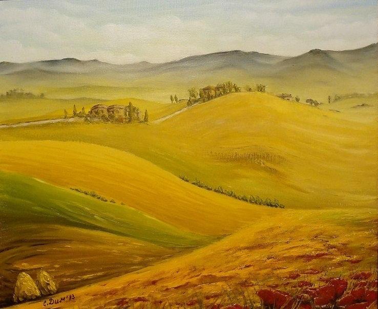 Landscape Painting - Dream by Svetla Dimitrova