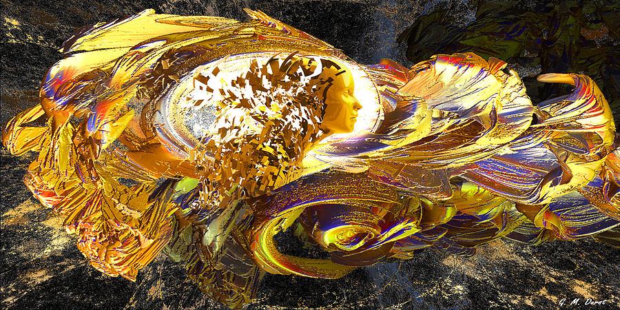 Fractal Digital Art - Dream Weaver by Michael Durst