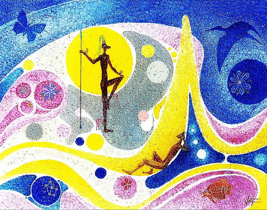 Dreamworld Painting - Dream World by Hartmut Jager