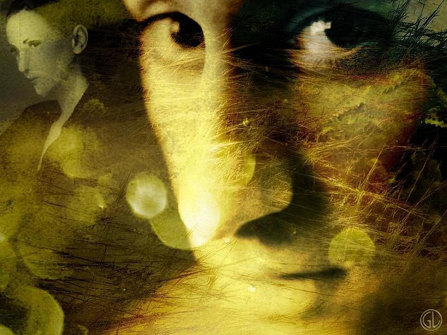 Man Digital Art - Dreambubbles And Sawteeths by Gun Legler