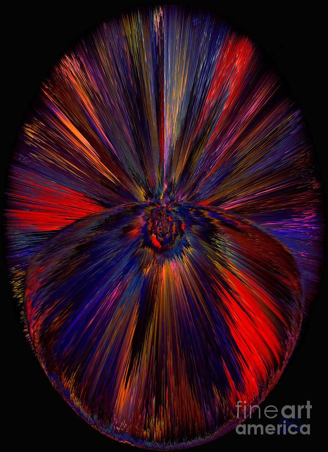 Orb Digital Art - Dreamcatcher  by Patricia Kay