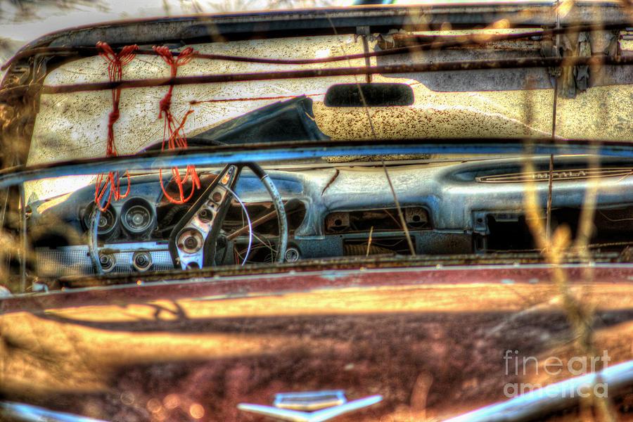 60's Convertible Impala Photograph - Dreamcatchers by Thomas Danilovich