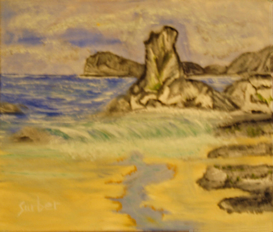 Seascape Painting - Dreaming Of Beaches by Suzanne Surber