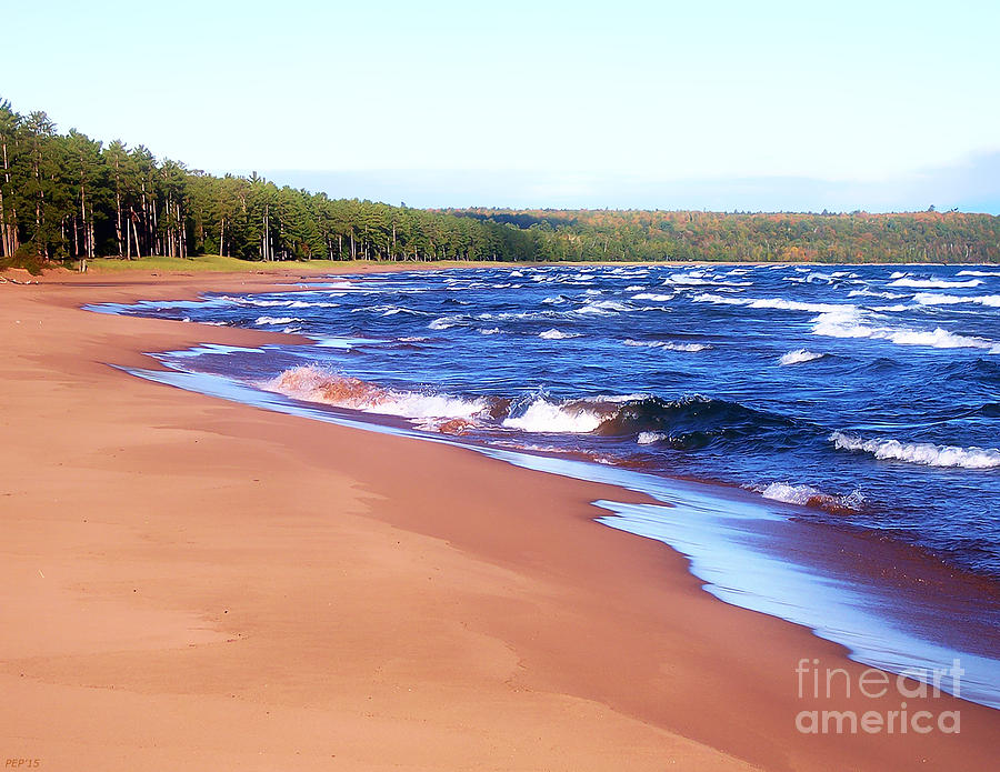 Lake Superior Photograph - Dreaming Of Lake Superior by Phil Perkins