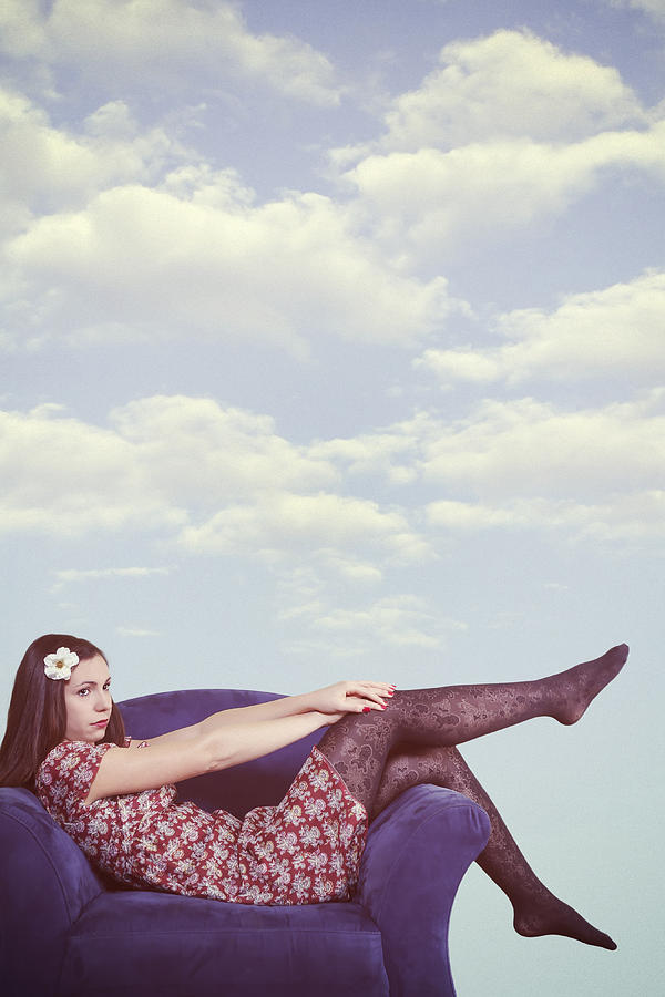 Woman Photograph - Dreaming To Fly by Joana Kruse