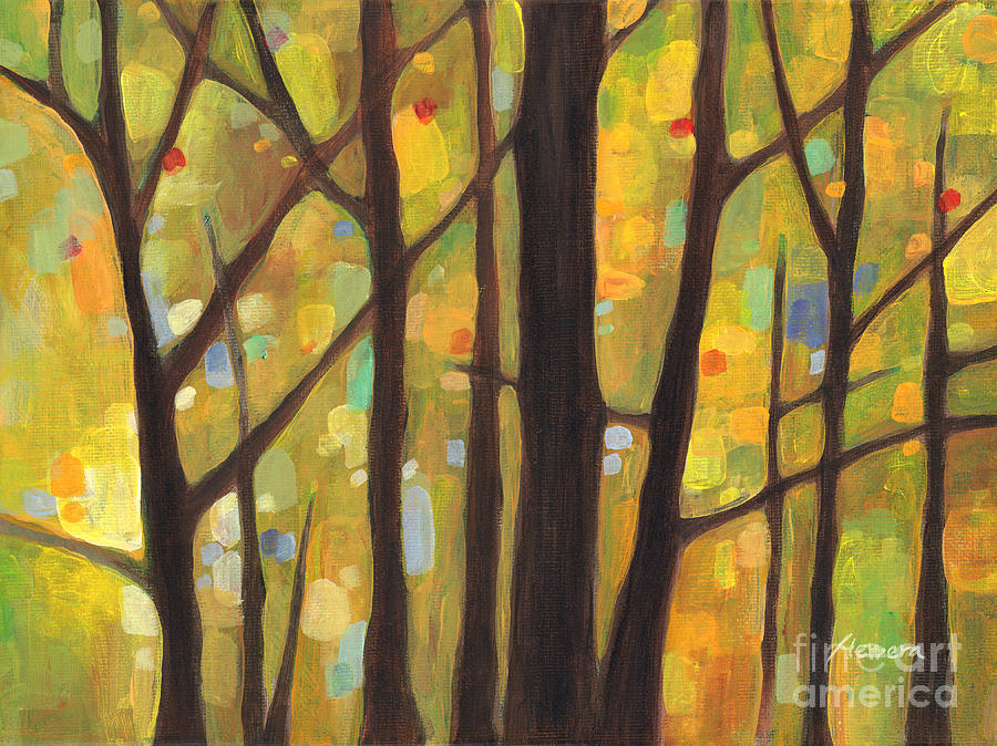 Dreaming Trees 1 Painting