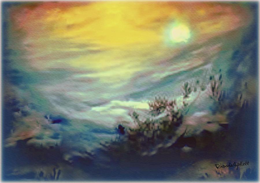 Dreamscape Mixed Media - Dreaming by YoMamaBird Rhonda