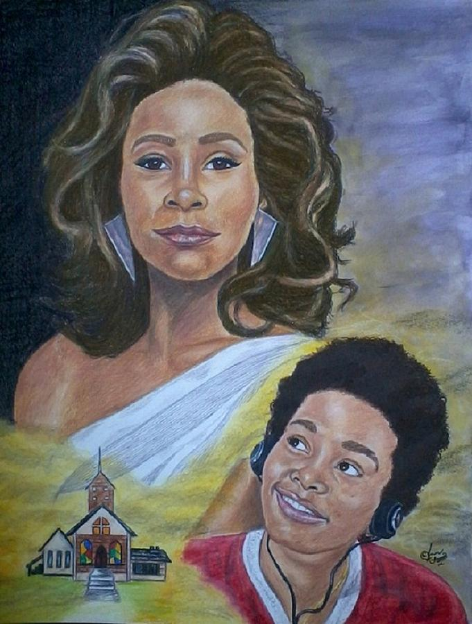African American Painting - Dreams Do Come True Whitney by Arron Kirkwood