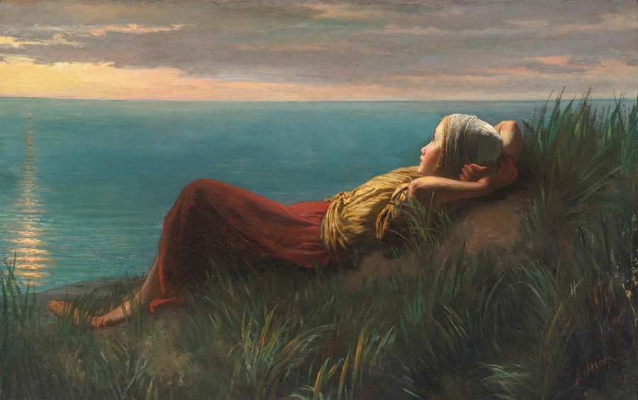 Dreams Dolce Far Niente Painting By Jozef Israels