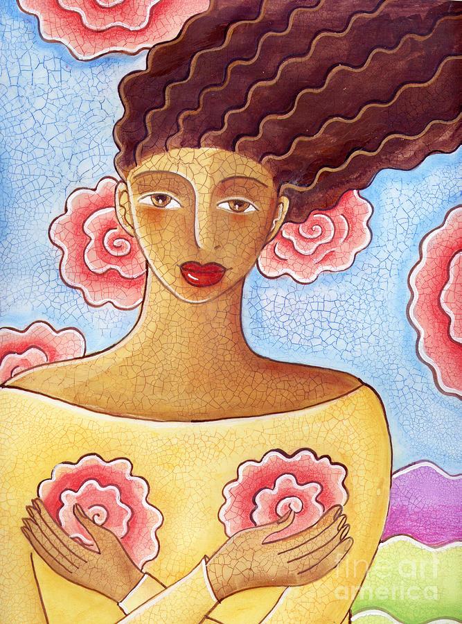 Figurative Painting - Dreams by Elaine Jackson