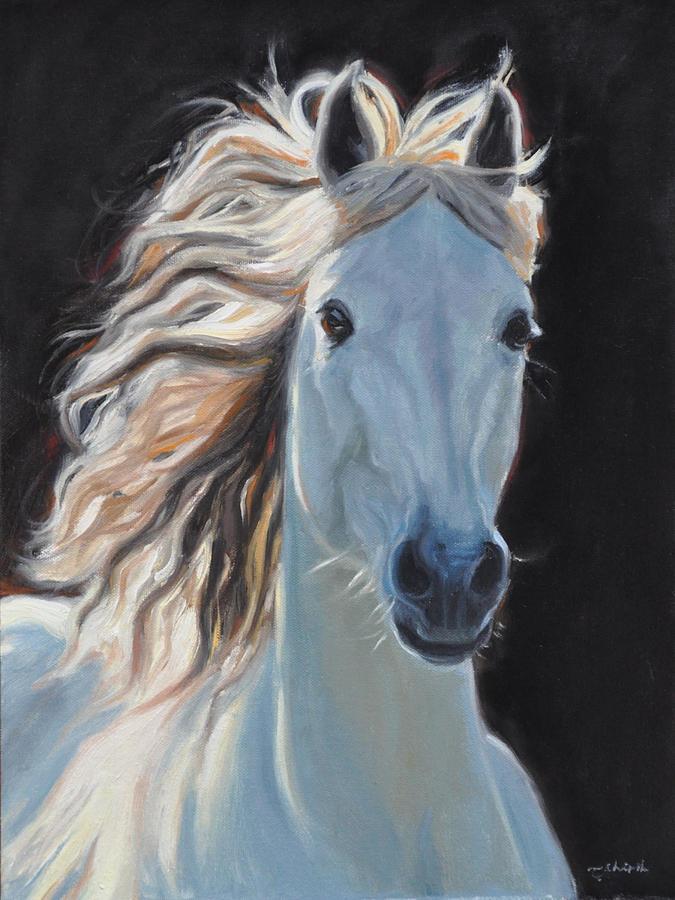 Horse Painting - Dreams of Pegasus by Tahirih Goffic
