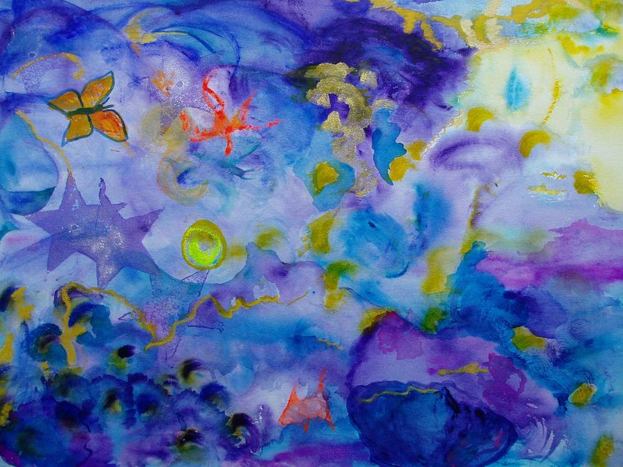 Watercolor Painting - Dreams by Phoenix Simpson