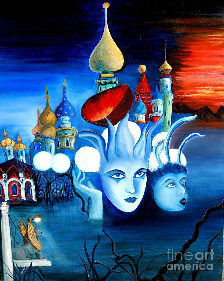 Surrealism Painting - Dreams by Pilar  Martinez-Byrne