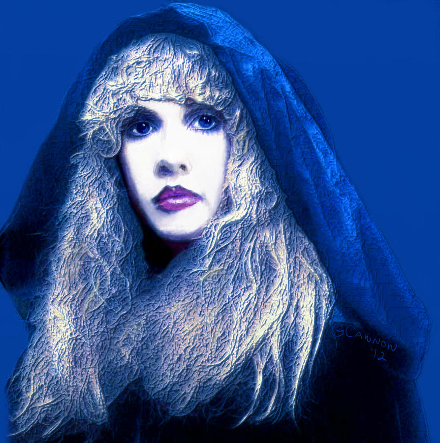 Stevie Nicks Mixed Media - Dreams Unwind by GCannon