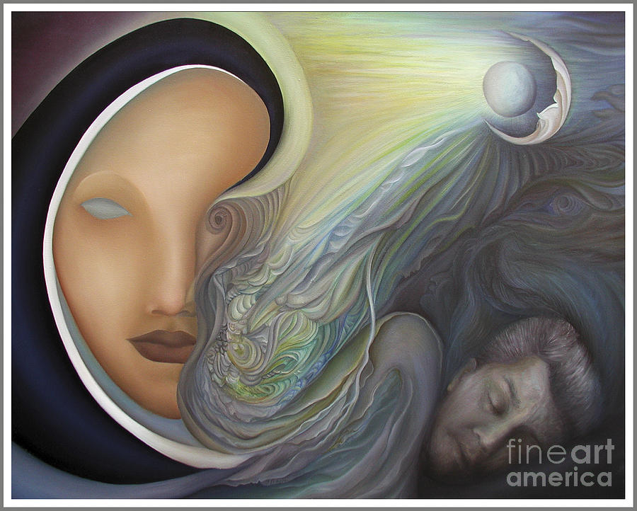 Sensual Painting - Dreamscape by Joanna Pregon