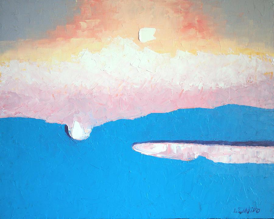 Dreamscape Vi Painting by Laura Tasheiko