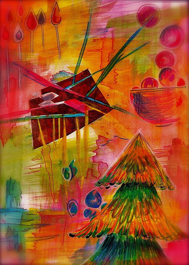 Dreamy Abstract Mixed Media