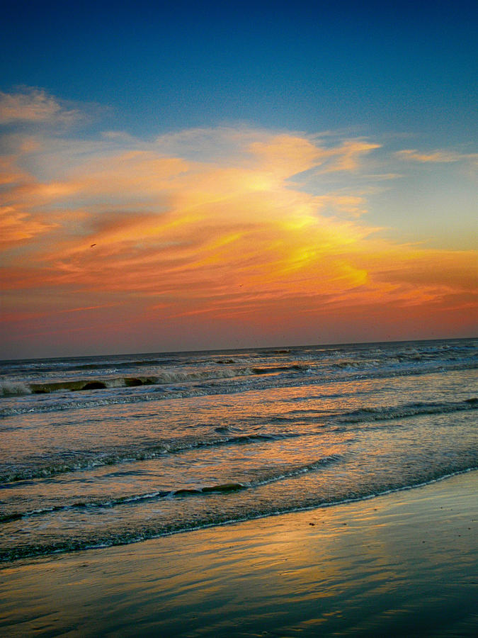 Sunset Photograph - Dreamy Texas Sunset by Kristina Deane