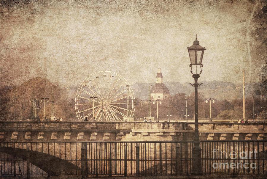 Vintage Pyrography - Dresden by Jelena Jovanovic