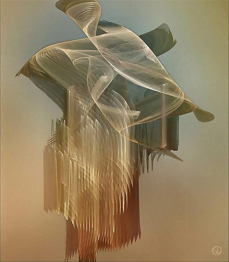 Fractal Digital Art - Dress From The 1920th by Gun Legler