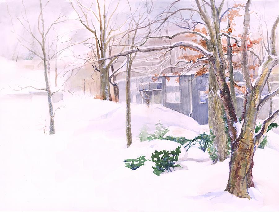 Dressed in Winter White by Nancy Watson