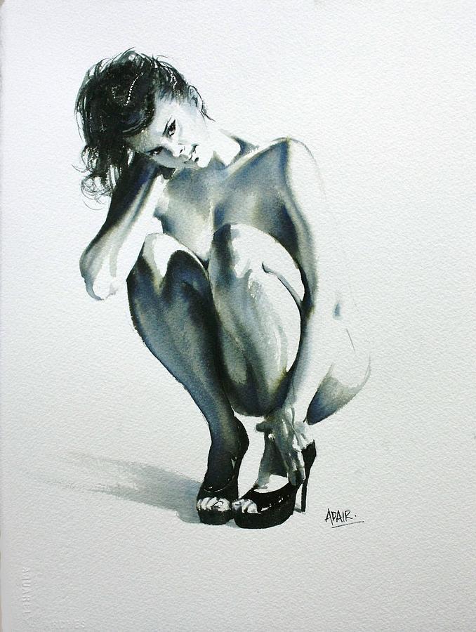 Figures Painting - Dressed To Kill by Pauline Adair