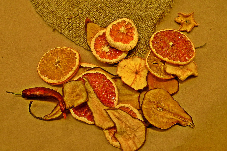 Dried Fruit Photograph - Dried Fruit by Brian Chase