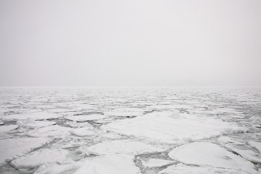 Drift Ice Photograph by Yoshinori Kuwahara