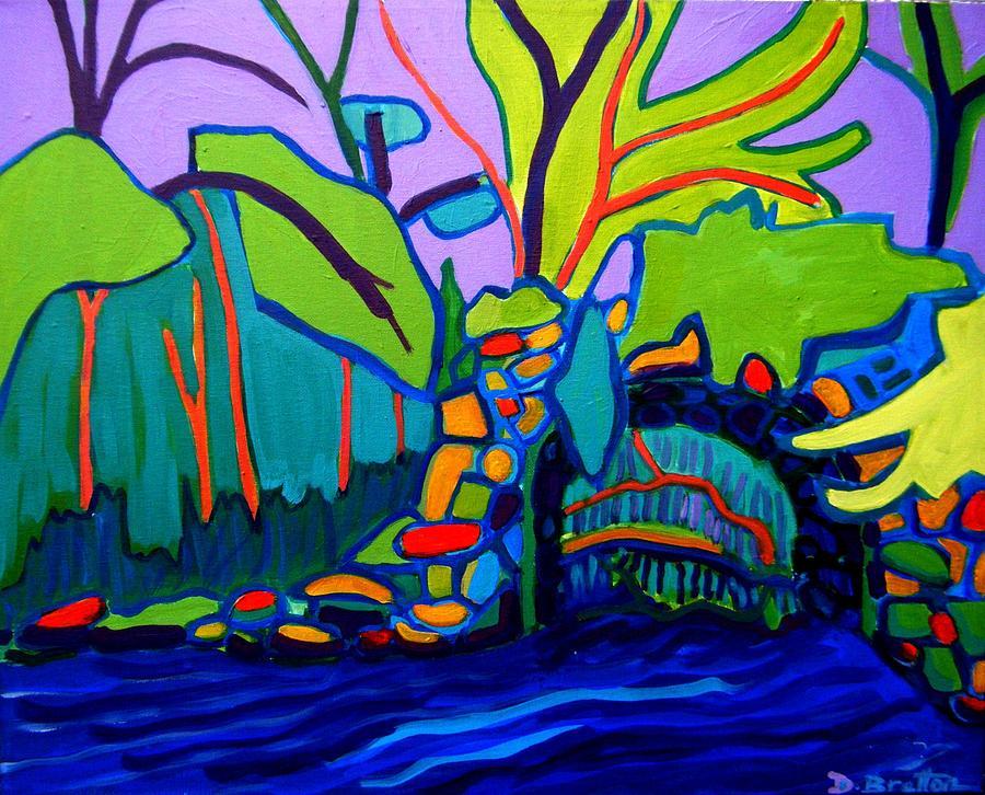Landscape Painting - Drifting by Debra Bretton Robinson