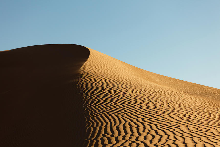Drifting Sand Dunes Photograph by Dustypixel