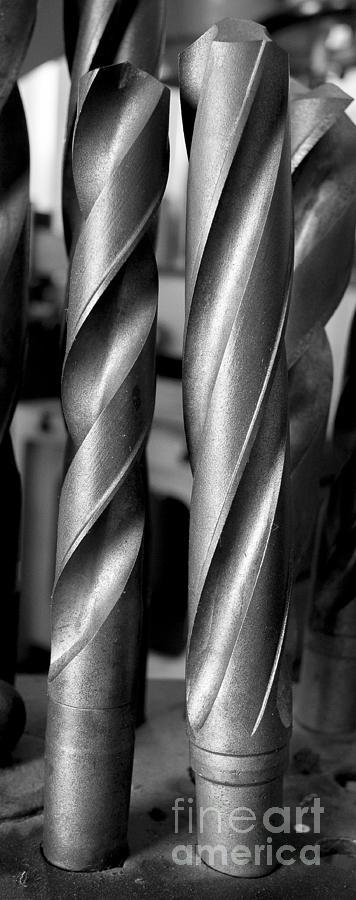 Dubuque Photograph - Drills by Steven Ralser