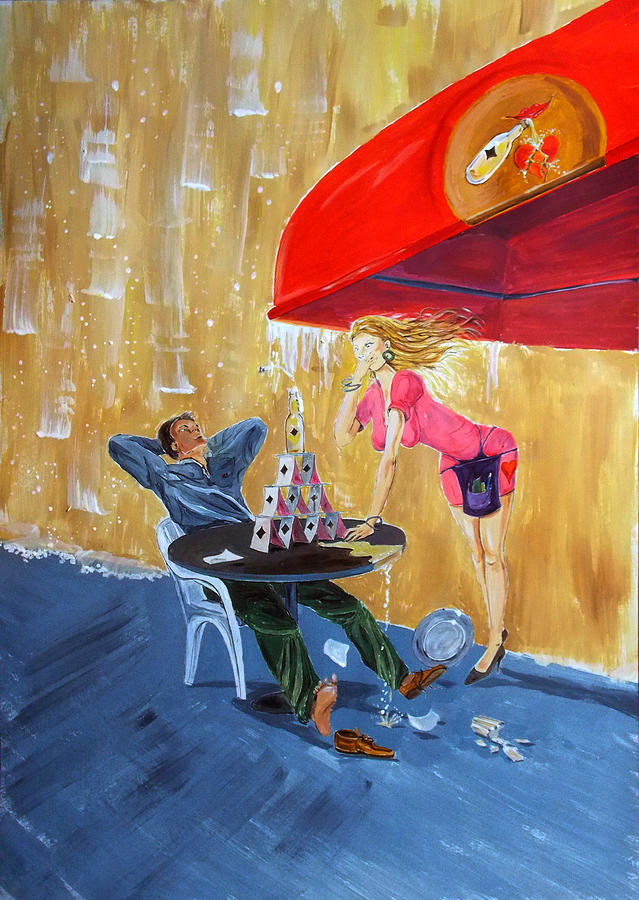 Drink And Play Painting