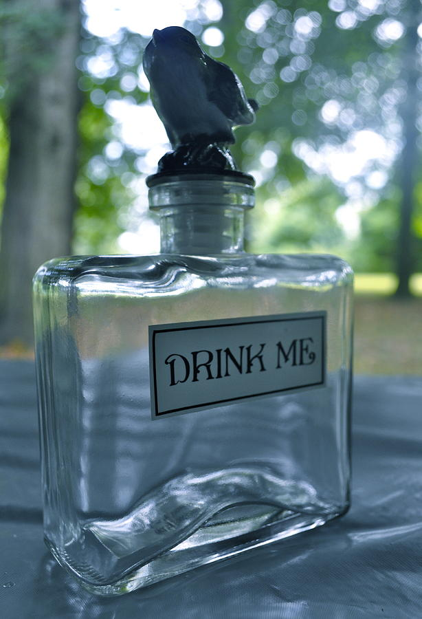 Alice Photograph - Drink Me by Brynn Ditsche