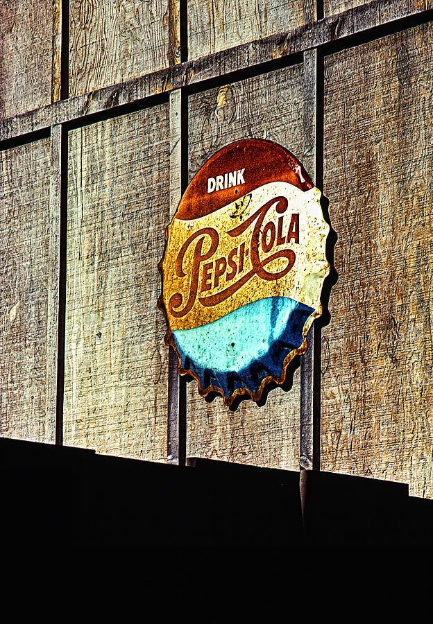 Drink Pepsi Cola Photograph - Drink Pepsi Cola by Ron Regalado