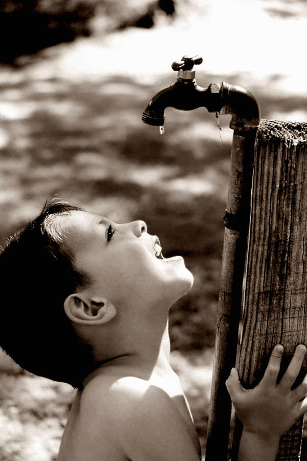 Child Photograph - Drip by Trish Mistric