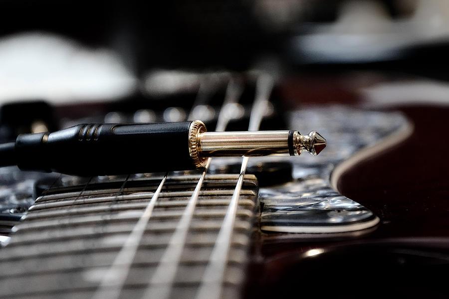 Guitar Photograph - Drive Me by Sergey Kireev