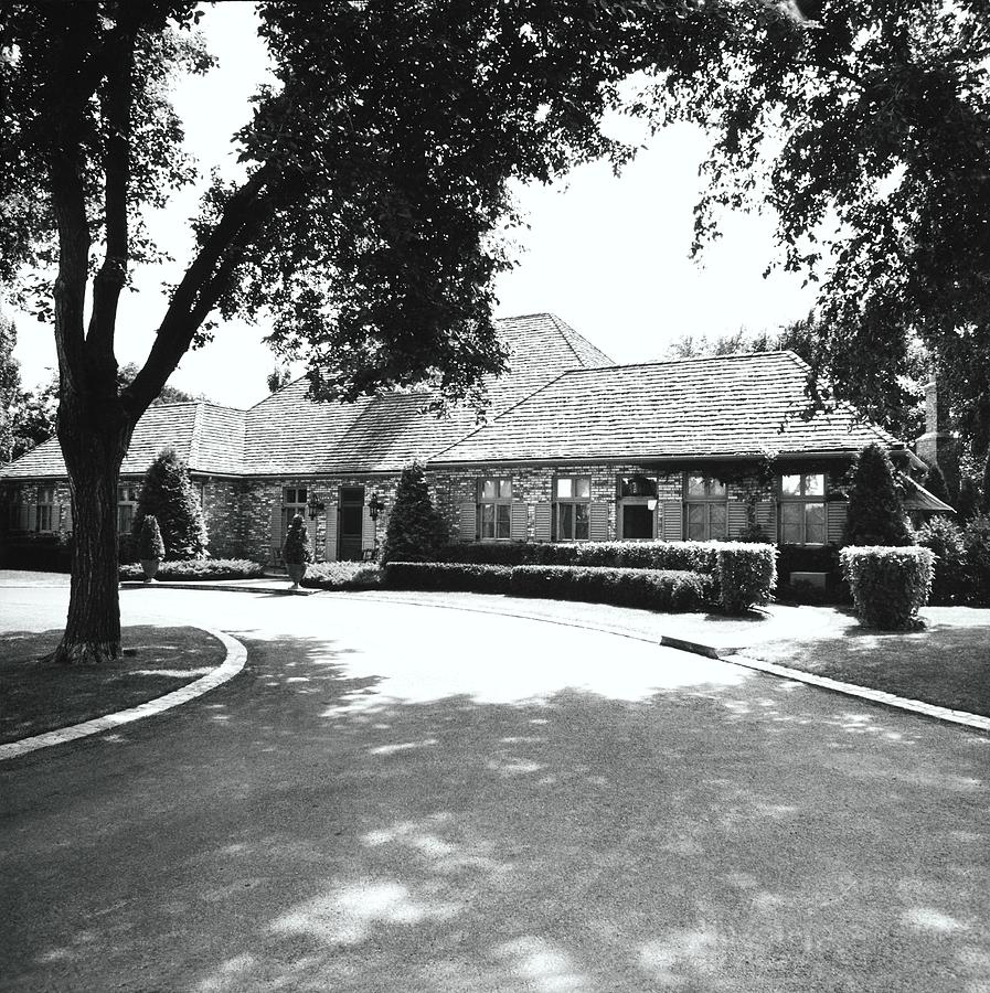 Driveway By House Photograph by Ralph Bailey