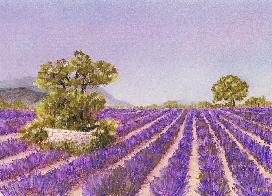 Interior Painting - Drome Provence by Anastasiya Malakhova