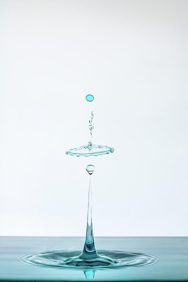 Drop Photograph - Drop by Adamo Prieto