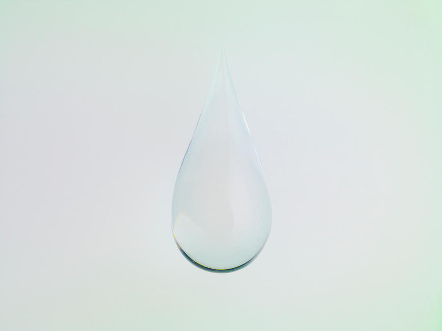 Drop Of Water Photograph by Level1studio