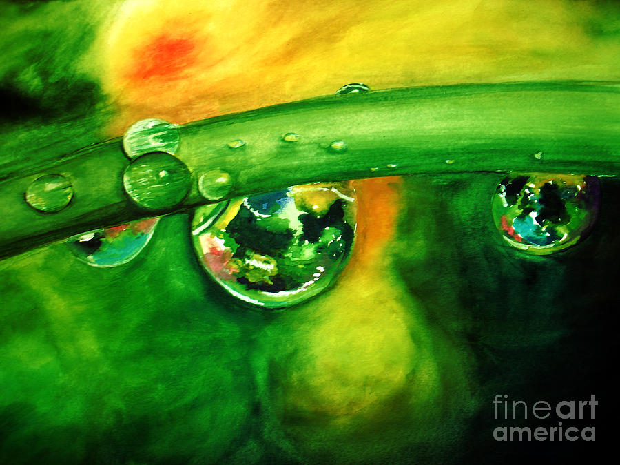 Droplets Painting
