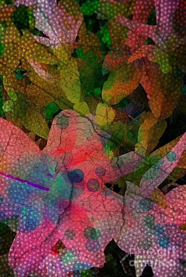 Digital Digital Art - Drops Of Color by Denisse Del Mar Guevara