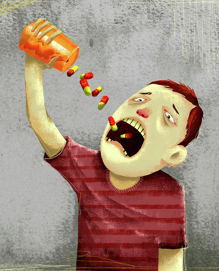 Addiction Photograph - Drug Abuse by Fanatic Studio / Science Photo Library