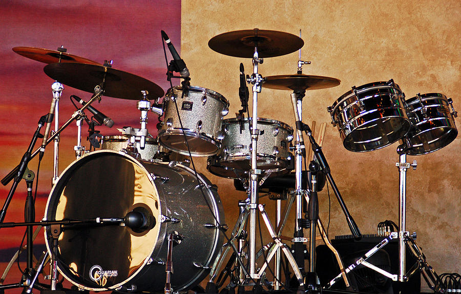 Drum Set Photograph By Aimee L Maher Alm Gallery