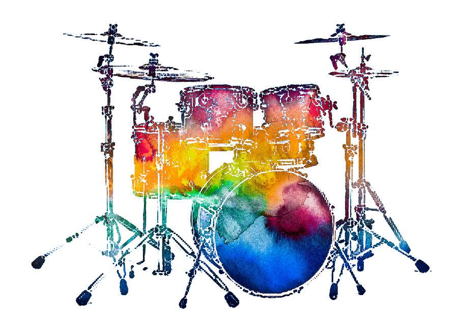 Drum Set Photograph