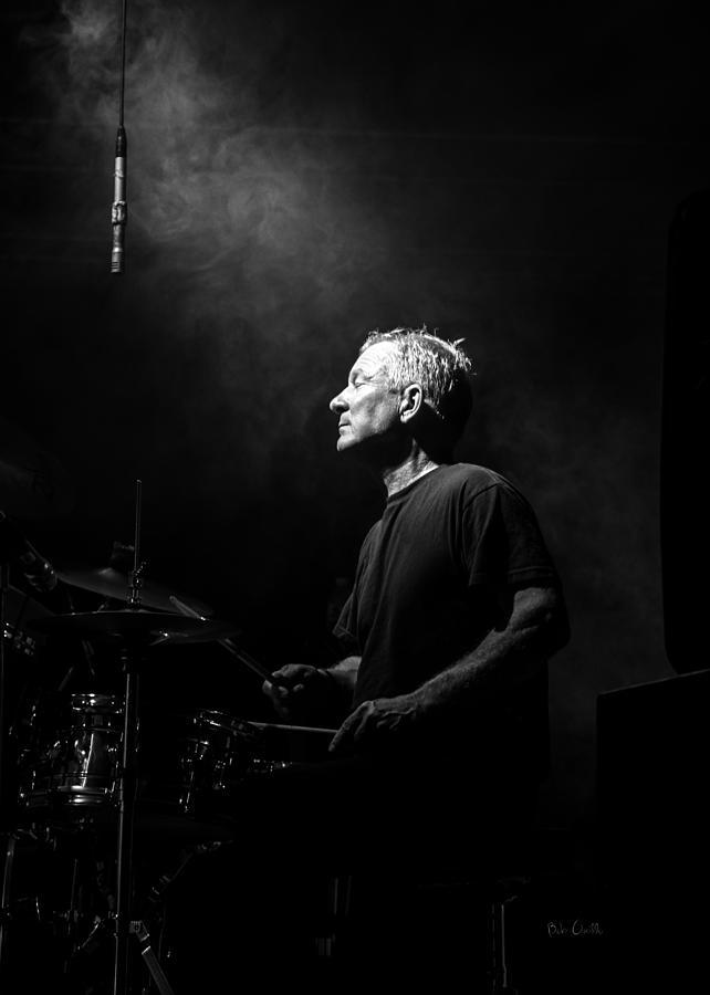 Drummer Photograph - Drummer Portrait Of A Muscian by Bob Orsillo