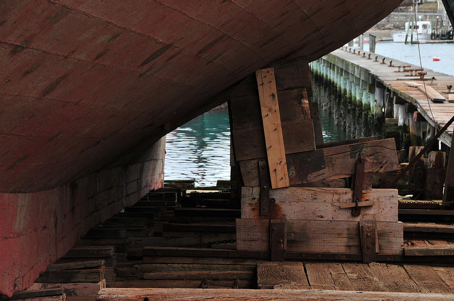 Seascape Photograph - Dry-dock by Mike Martin