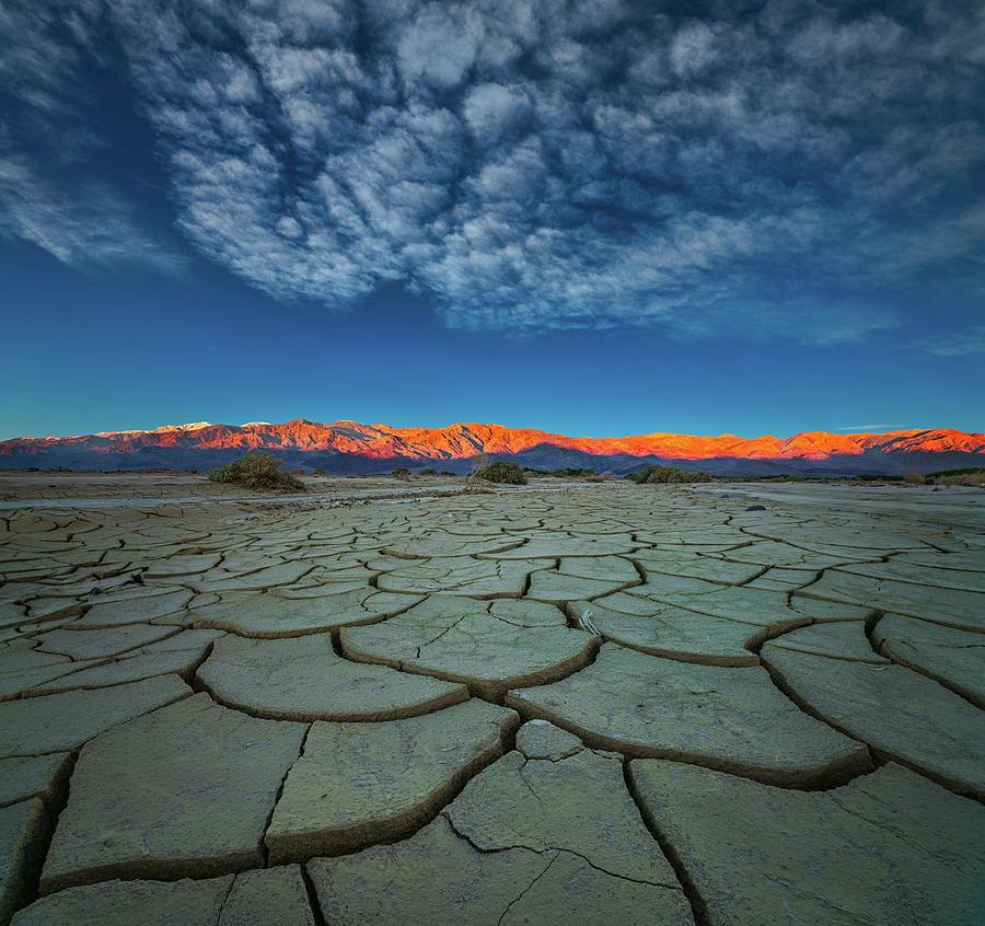 Cracks Photograph - Dry Season by John Fan