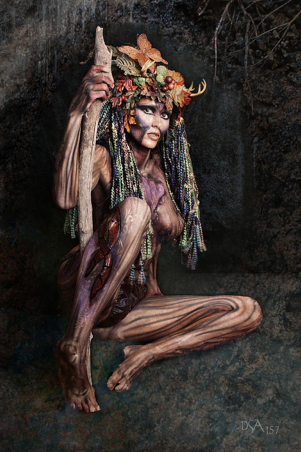 Body Paint Photograph - Dryad IIi by David April